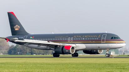 JY-AYU - Royal Jordanian Airbus A320