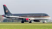 JY-AYU - Royal Jordanian Airbus A320 aircraft