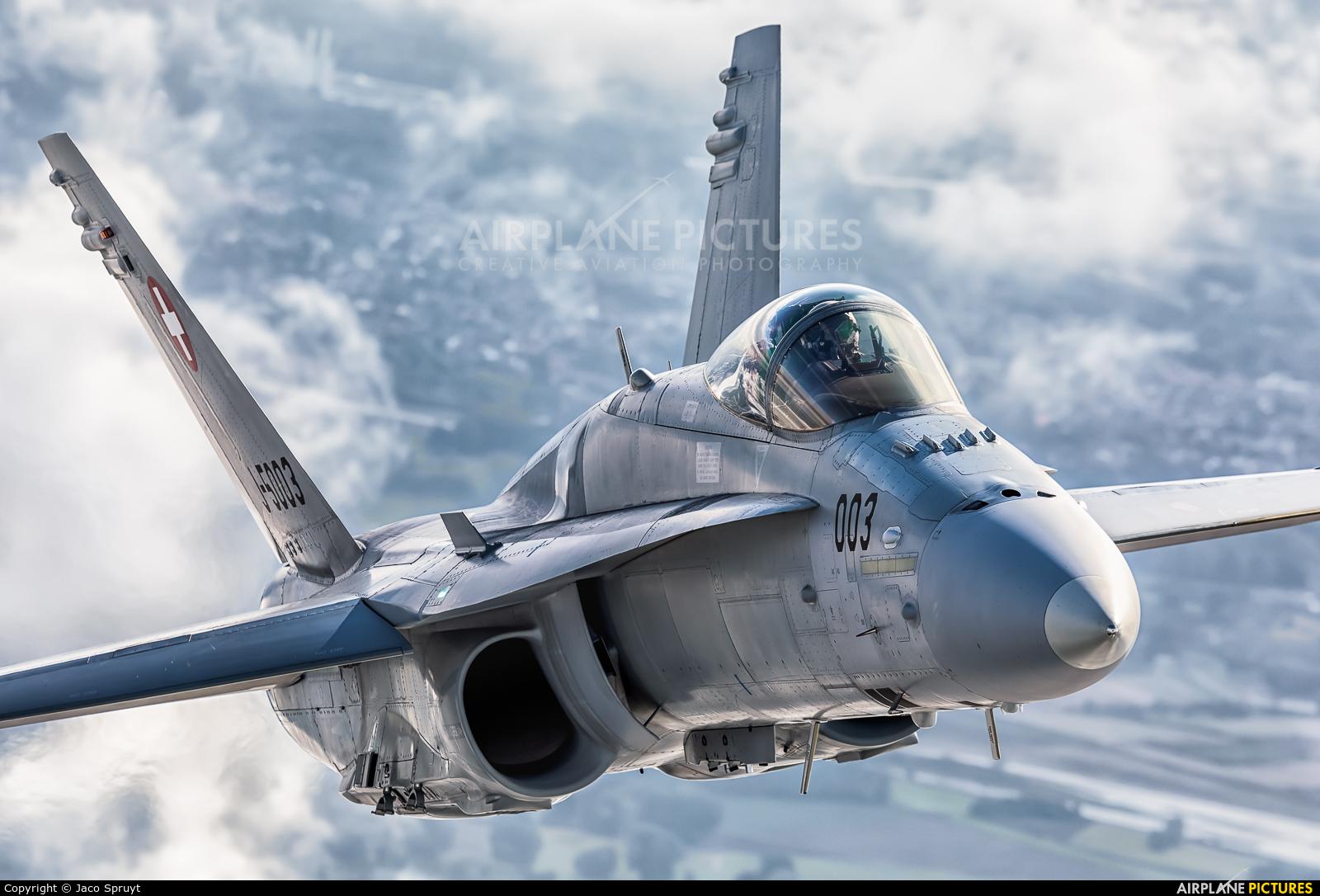 Switzerland - Air Force J-5003 aircraft at In Flight - Belgium
