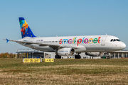 YR-SEA - Small Planet Airlines Airbus A320 aircraft