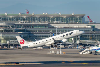 JA243J - J-Air Embraer ERJ-190 (190-100)