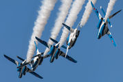 46-5731 - Japan - ASDF: Blue Impulse Kawasaki T-4 aircraft