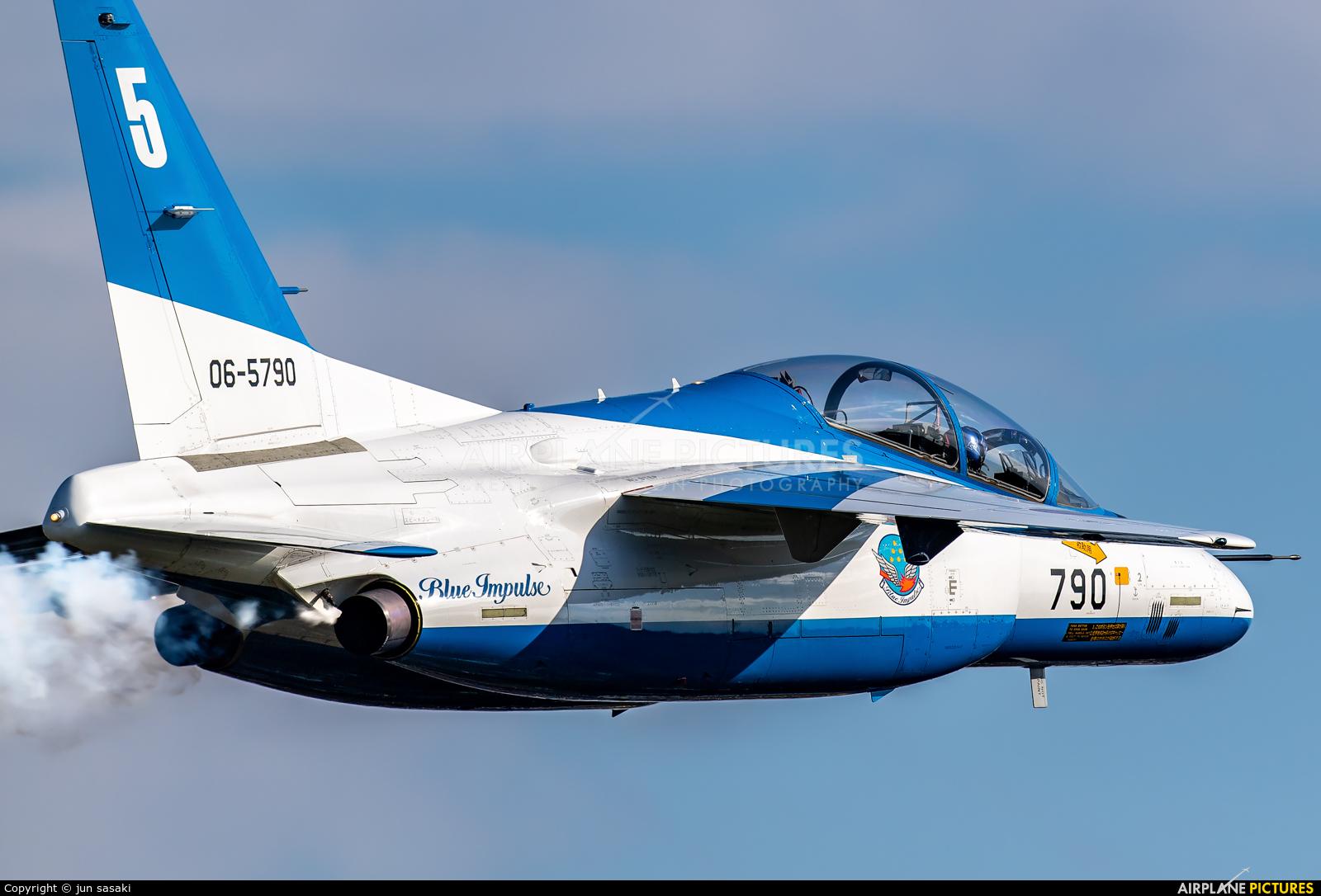 Japan - ASDF: Blue Impulse 06-5790 aircraft at Iruma AB