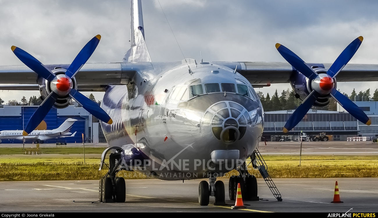 Ruby Star Air Enterprise EW-485TI aircraft at Helsinki - Vantaa