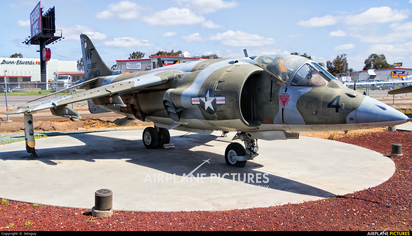 USA - Marine Corps 158387 aircraft at Miramar MCAS - Flying Leatherneck Aviation Museum