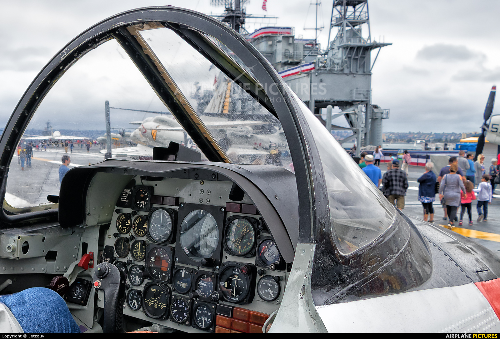 USA - Navy 156697 aircraft at San Diego - USS Midway Museum