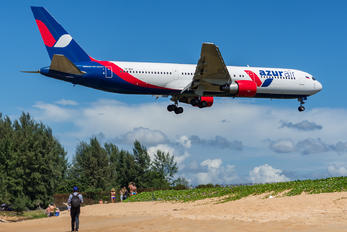 VP-BUV - AzurAir Boeing 767-300ER