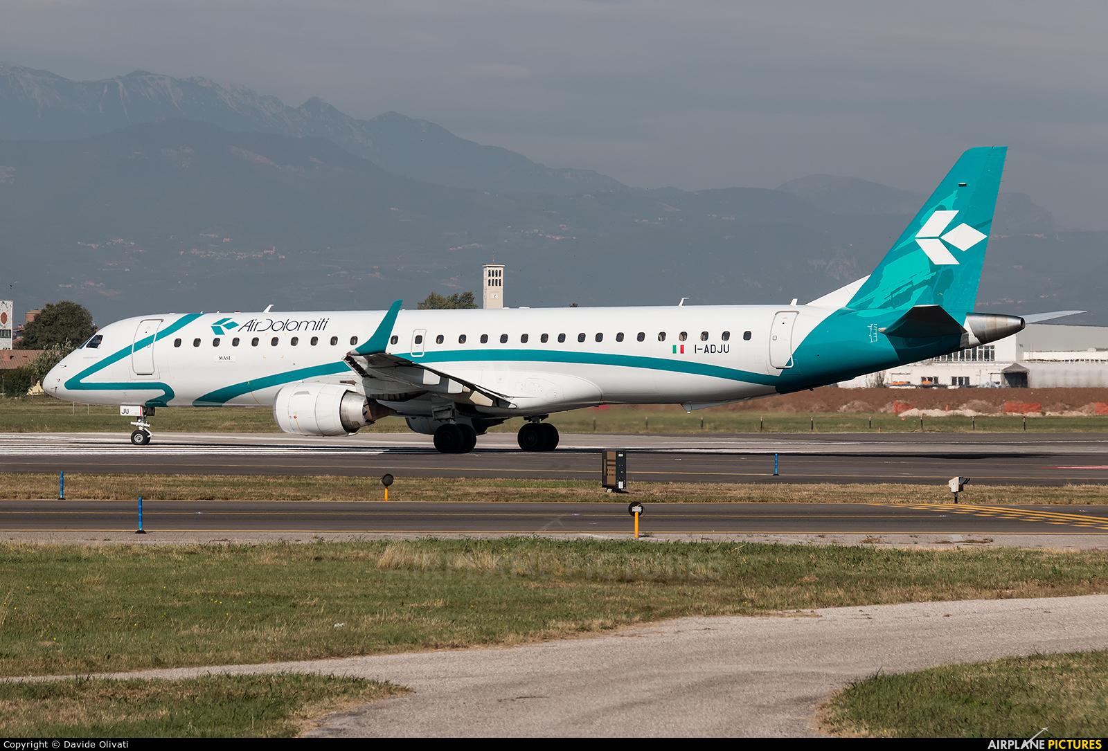 Air Dolomiti I-ADJU aircraft at Verona - Villafranca