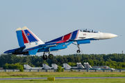 "RF-81702 - Russia - Air Force ""Russian Knights"" Sukhoi Su-30SM aircraft"