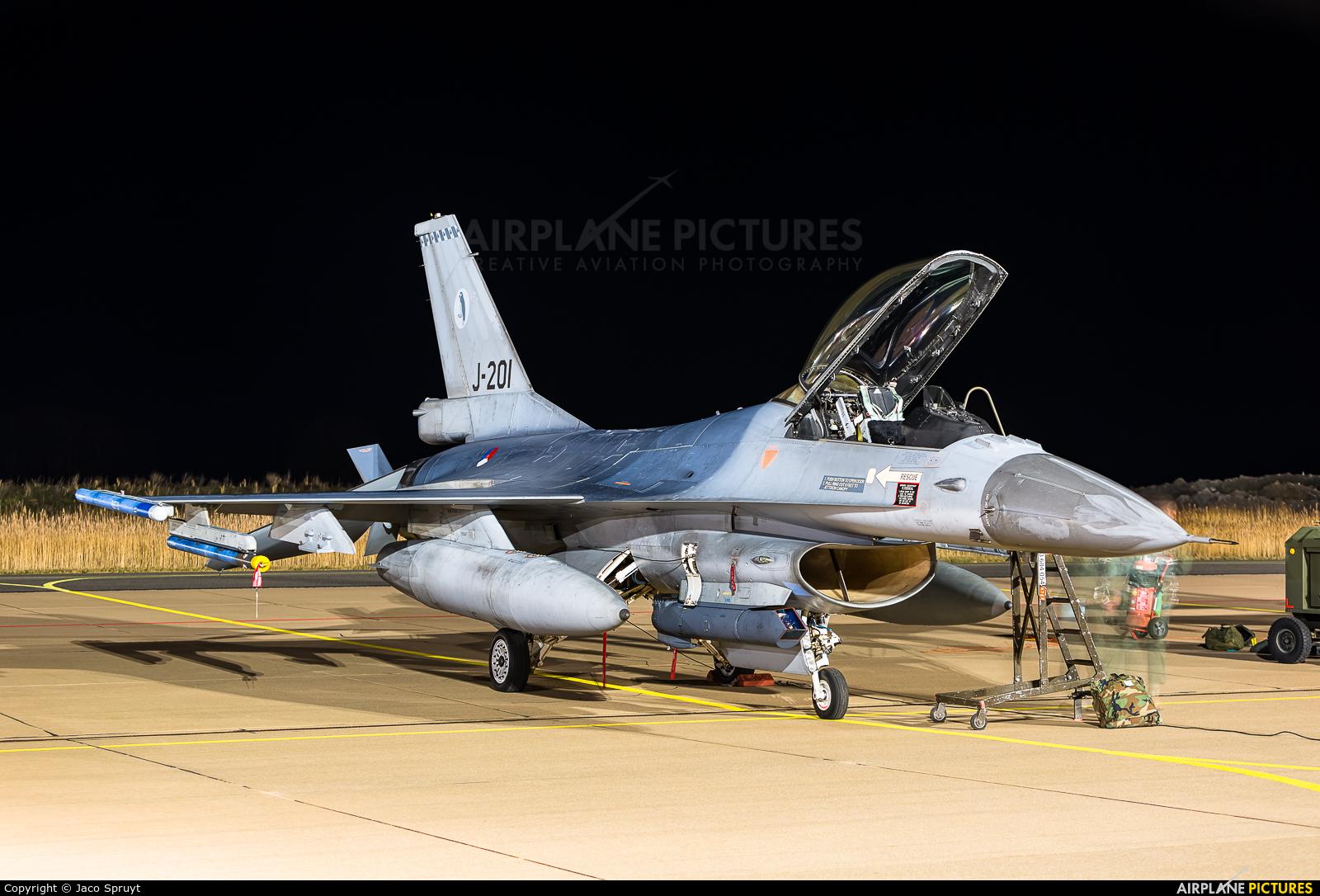 Netherlands - Air Force J-201 aircraft at Leeuwarden