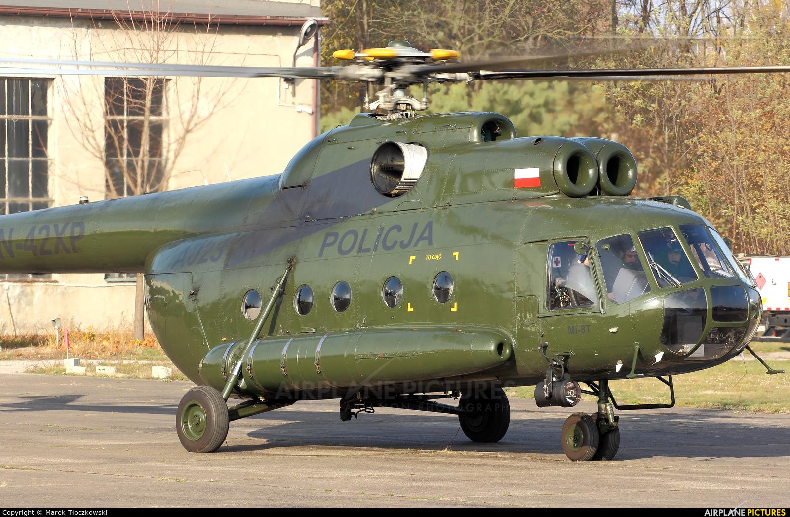 Poland - Police SN-42XP aircraft at Warsaw - Babice