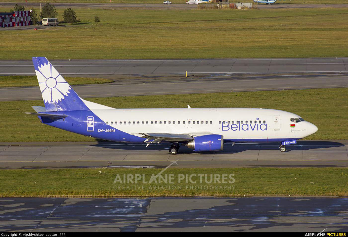 Belavia EW-366PA aircraft at St. Petersburg - Pulkovo
