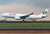 Wamos Airbus A330 visited Verona Villafranca operating for Neos title=