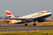 G-EUOH - British Airways Airbus A319 aircraft