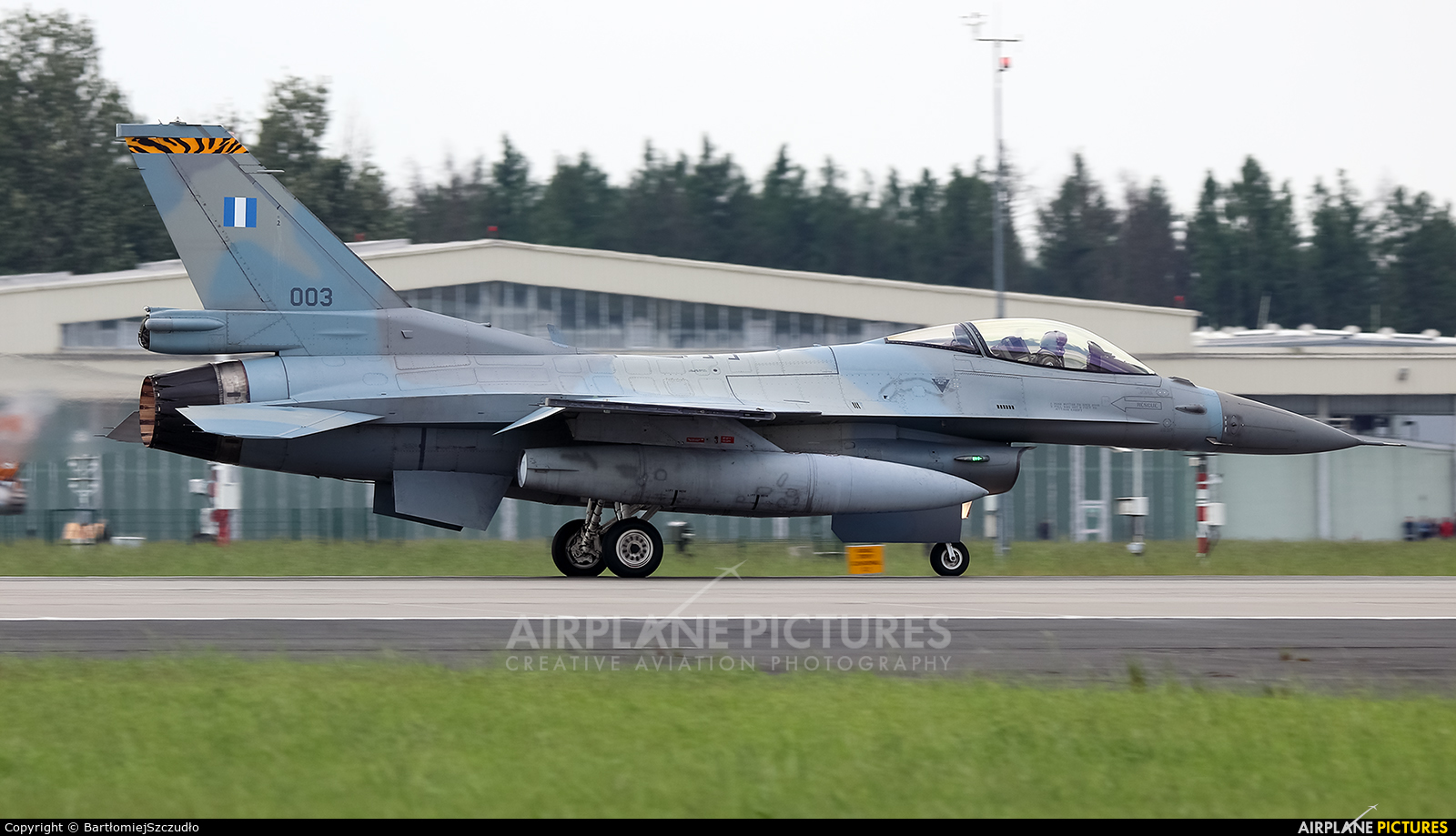 Greece - Hellenic Air Force 003 aircraft at Poznań - Krzesiny