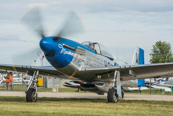N51VL - Private North American P-51D Mustang
