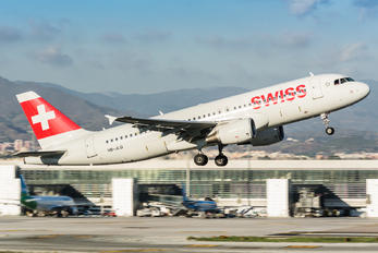 HB-JLQ - Swiss Airbus A320