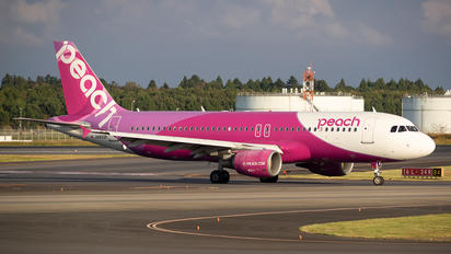 JA802P - Peach Air Airbus A320