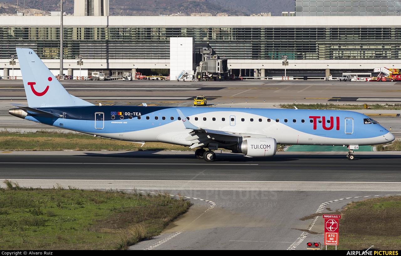 TUI Airlines Belgium OO-TEA aircraft at Málaga