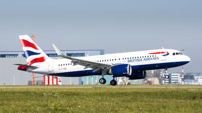 G-TTNE - British Airways Airbus A320 NEO