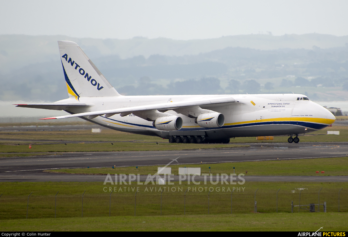 Antonov Airlines /  Design Bureau UR-82072 aircraft at Auckland Intl