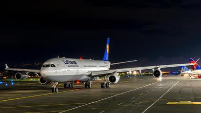 D-AIFC - Lufthansa Airbus A340-300