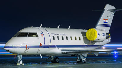 9A-CRO - Croatia - Government Canadair CL-600 Challenger 604