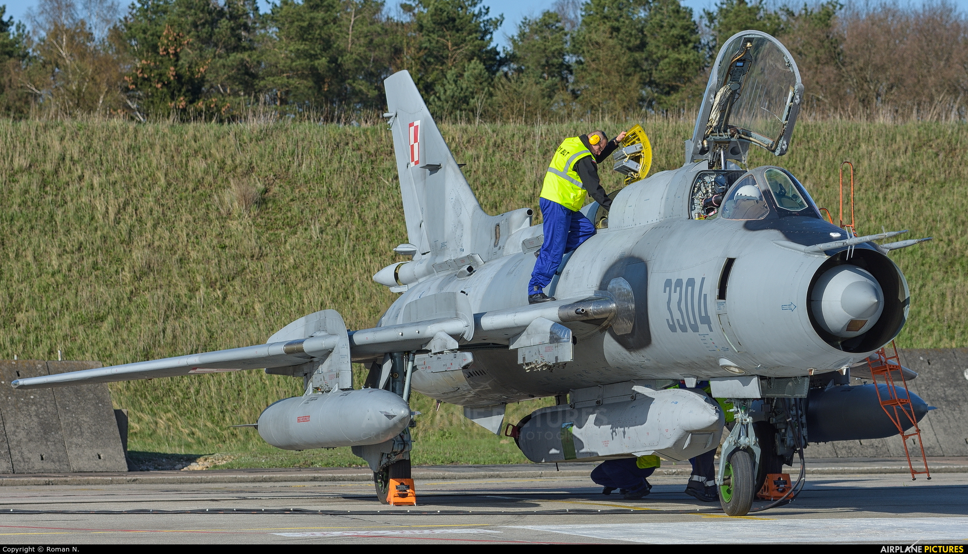Poland - Air Force 3304 aircraft at Świdwin