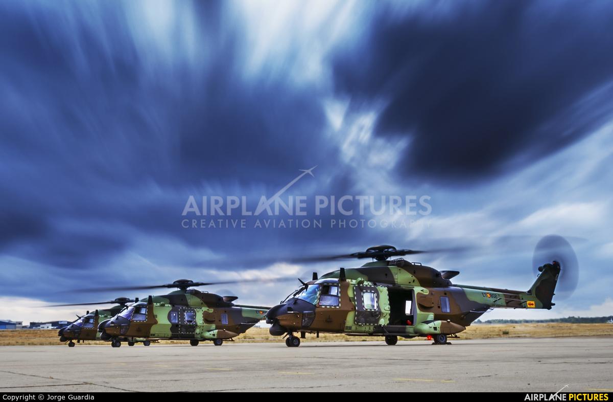 Spain - Army HT.29-02 aircraft at Madrid - Cuatro Vientos