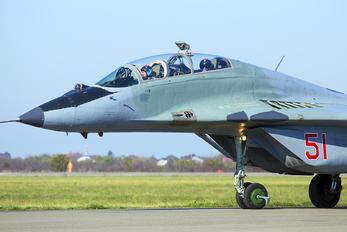 "51 - Russia - Air Force ""Strizhi"" Mikoyan-Gurevich MiG-29UB"