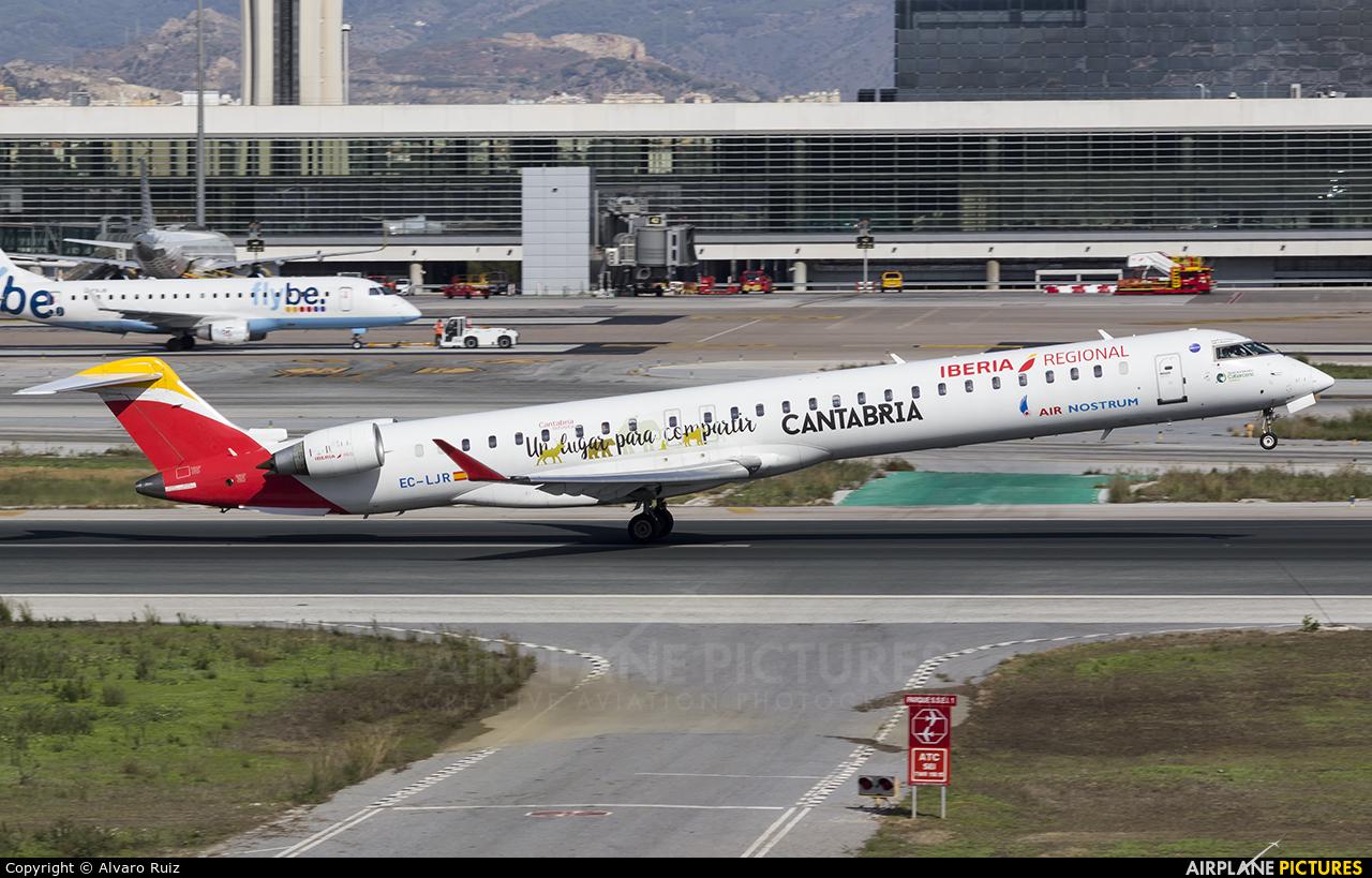 Air Nostrum - Iberia Regional EC-LJR aircraft at Málaga