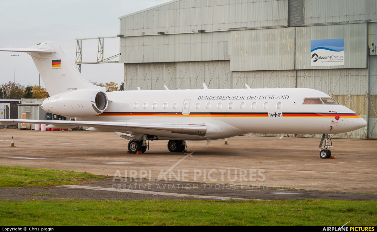 Germany - Air Force 14+01 aircraft at East Midlands