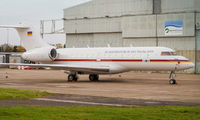 German AIr Force Bombardier Global 5000 visited East Midlands title=