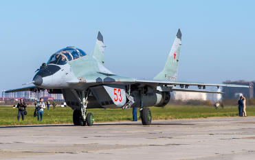 53 - Russia - Air Force Mikoyan-Gurevich MiG-29UB