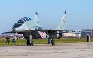 53 - Russia - Air Force Mikoyan-Gurevich MiG-29UB aircraft