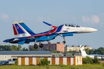 "RF-81706 - Russia - Air Force ""Russian Knights"" Sukhoi Su-30SM"