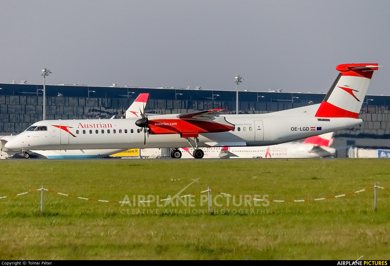 Austrian Airlines/Arrows/Tyrolean OE-LGD aircraft at Vienna - Schwechat
