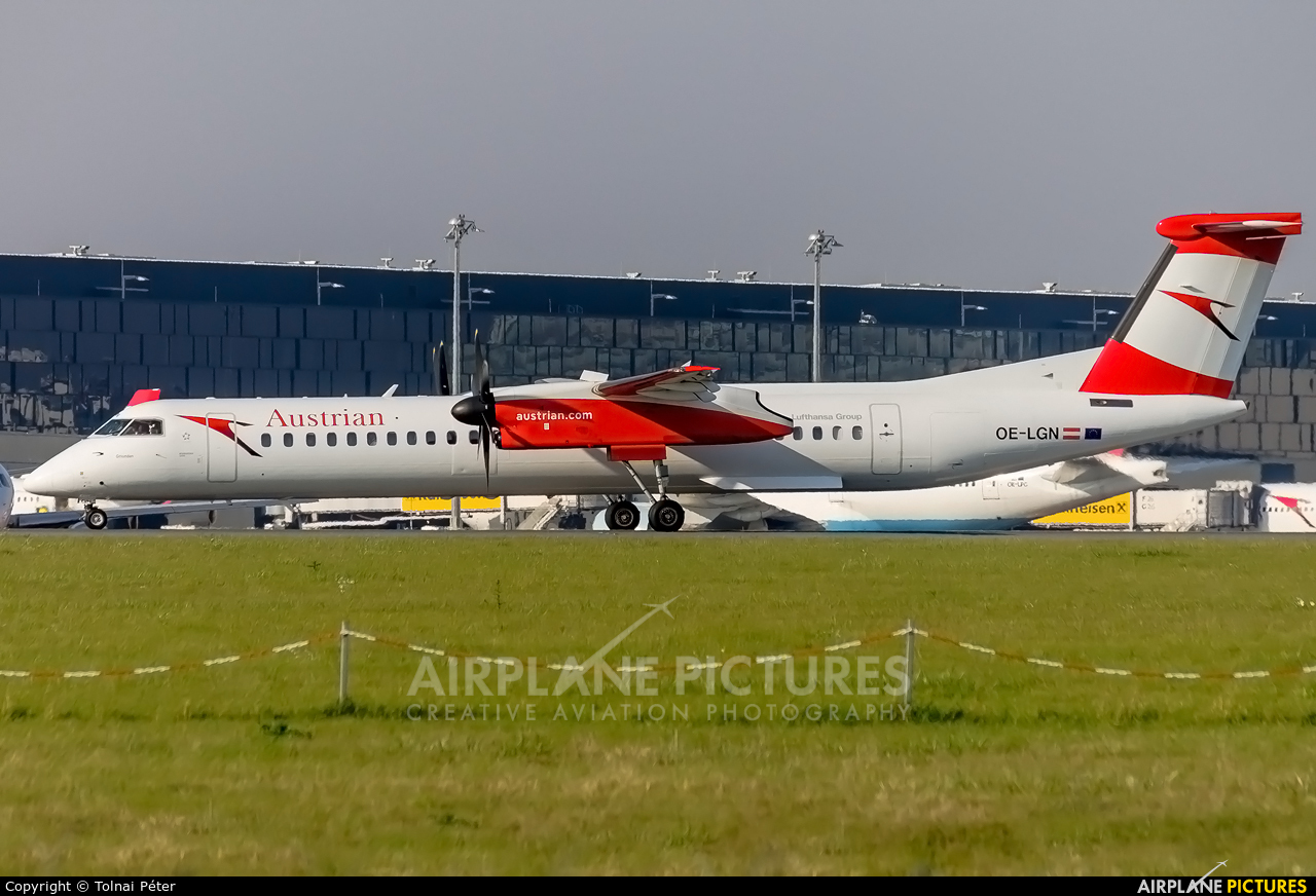 Austrian Airlines/Arrows/Tyrolean OE-LGN aircraft at Vienna - Schwechat