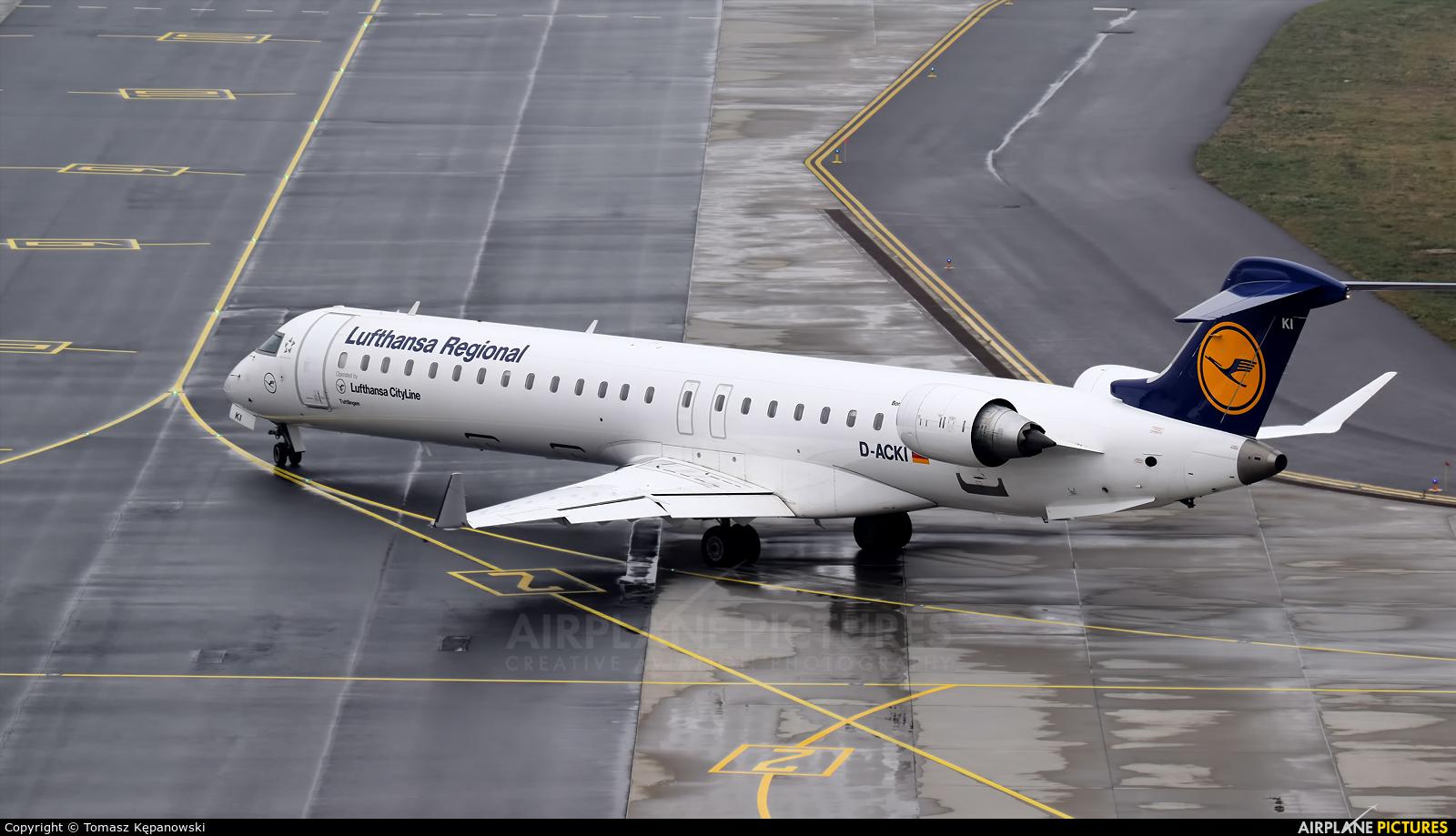 Lufthansa Regional - CityLine D-ACKI aircraft at Rzeszów-Jasionka