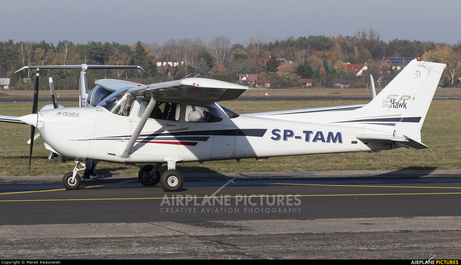 Private SP-TAM aircraft at Warsaw - Babice