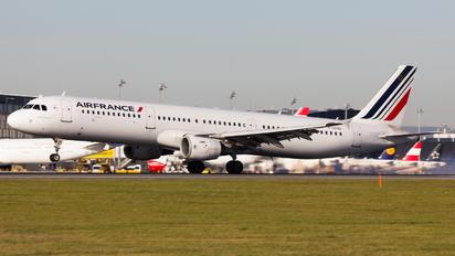 F-GTAU - Air France Airbus A321
