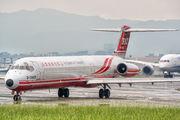 B-28025 - Far Eastern Air Transport McDonnell Douglas MD-83 aircraft