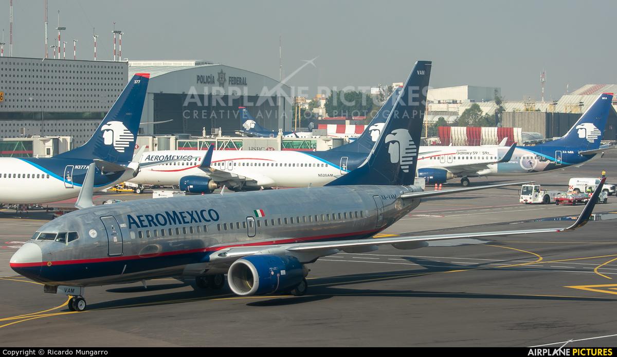 XA-VAM - Aeromexico Boeing 737-700 at San Jose - Juan