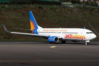 G-JZBO - Jet2 Boeing 737-8MG