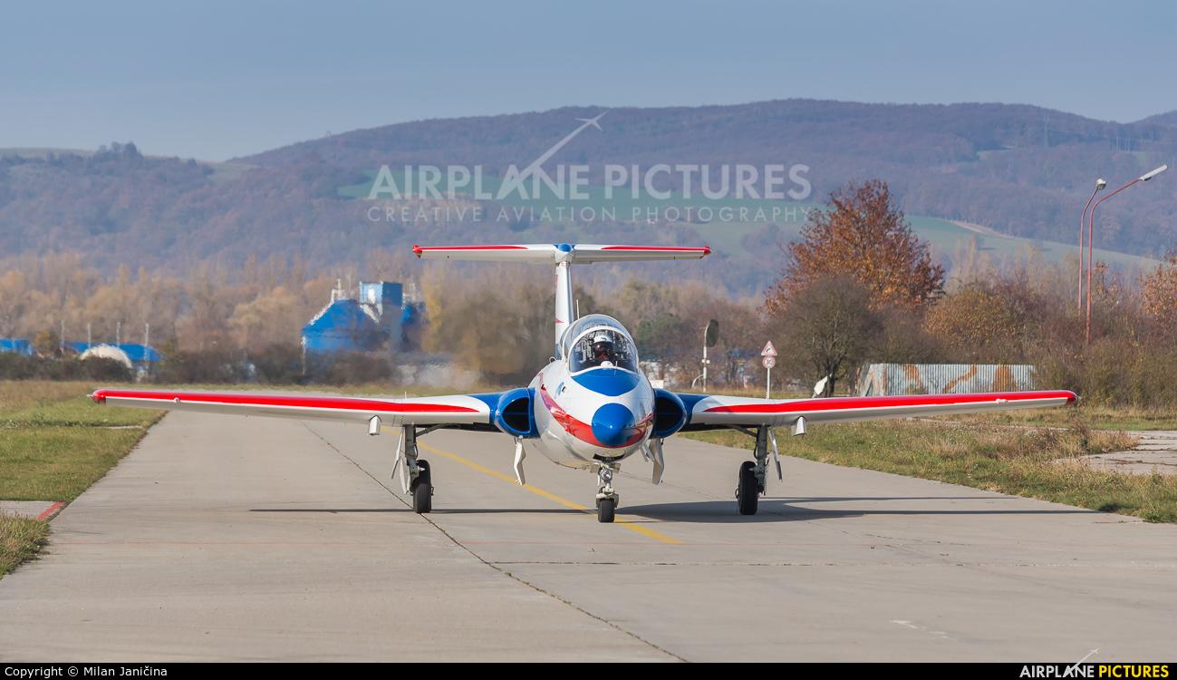 Private ES-XYB aircraft at Trenčín