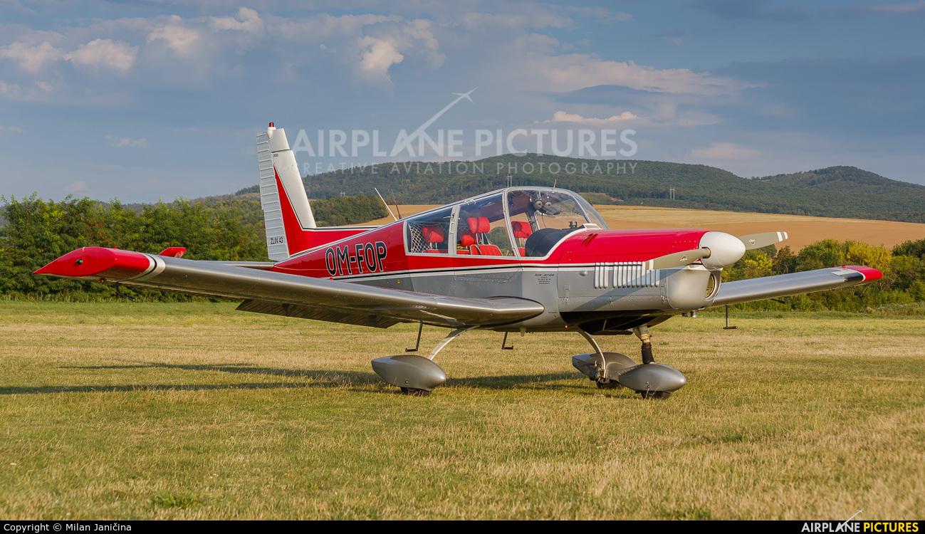 Private OM-FOP aircraft at Partizanske