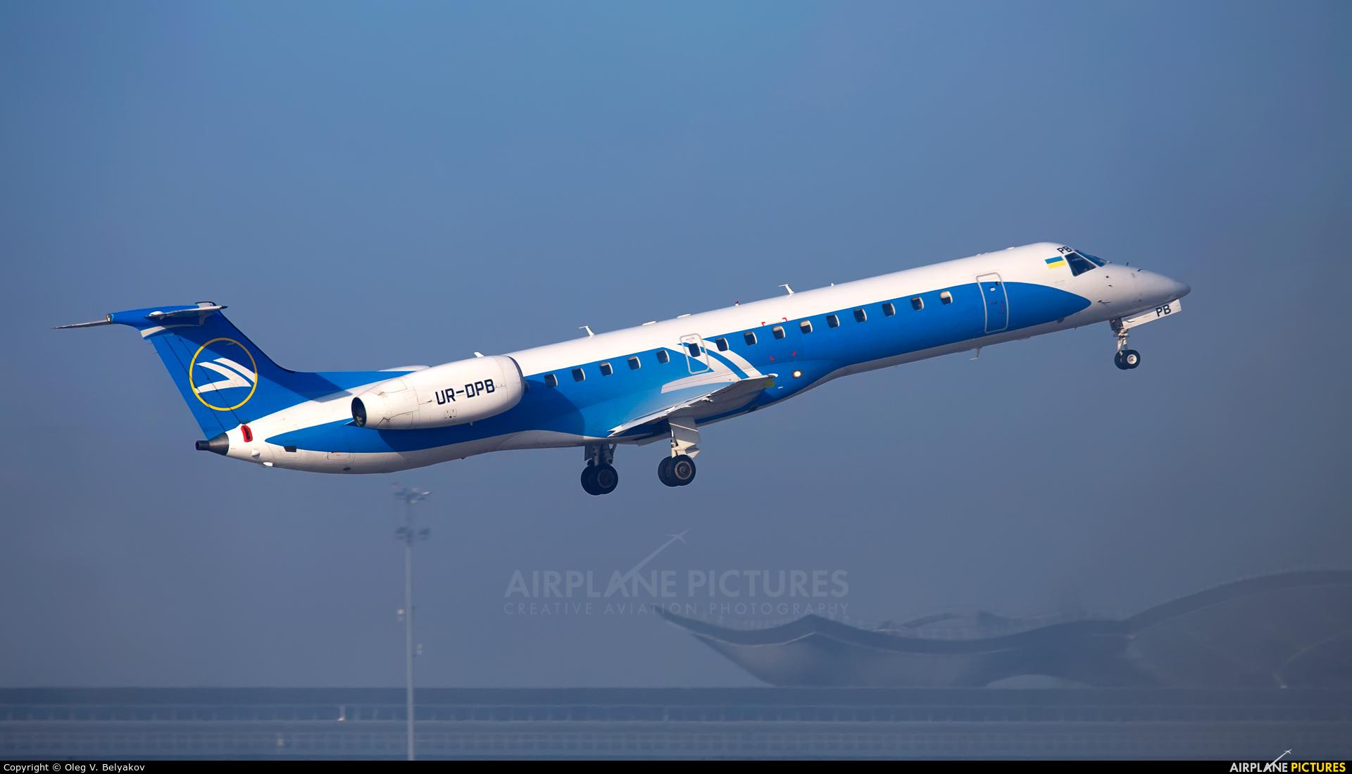 Dniproavia UR-DPB aircraft at Kiev - Borispol
