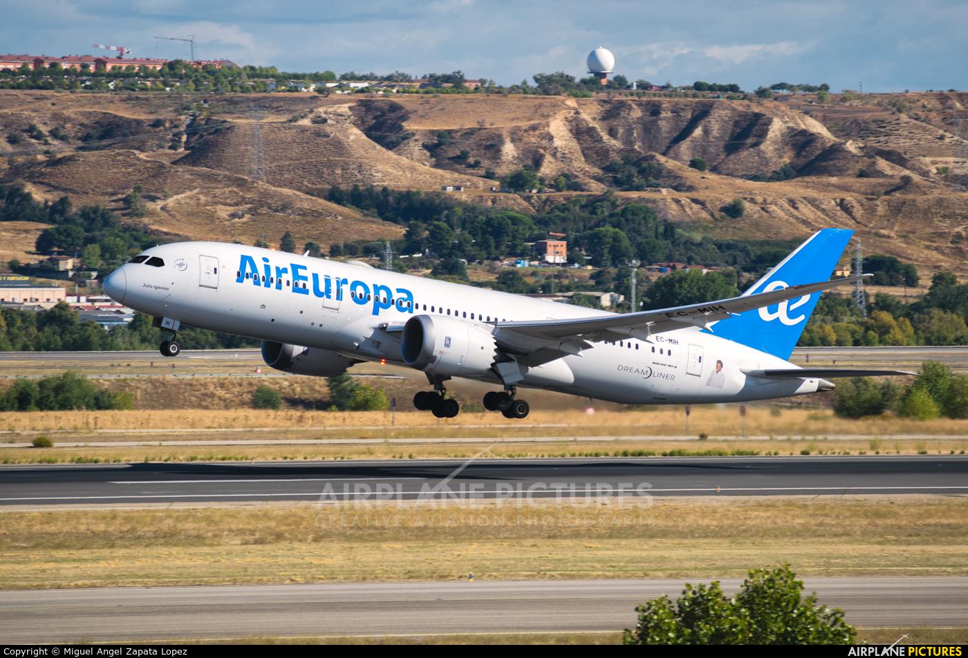 Air Europa EC-MIH aircraft at Madrid - Barajas