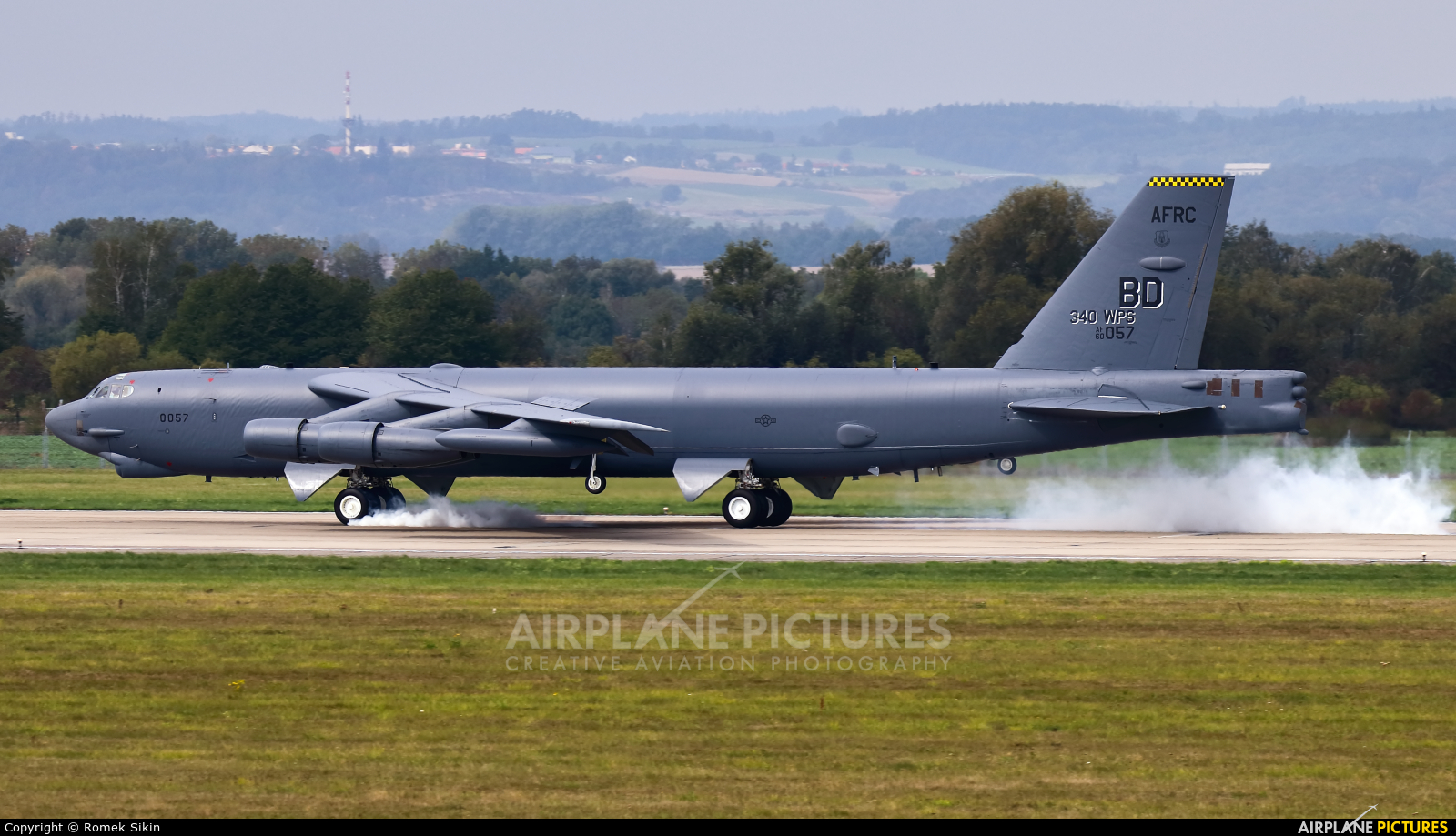 USA - Air Force AFRC 60-0057 aircraft at Ostrava Mošnov