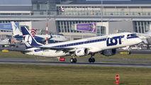 SP-LNA - LOT - Polish Airlines Embraer ERJ-190 (190-100) aircraft